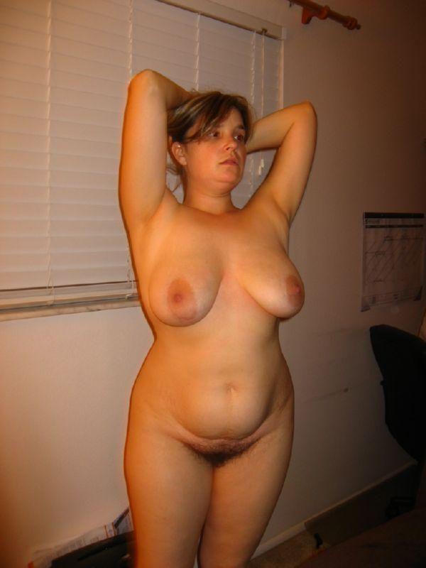 Something hairy navel female