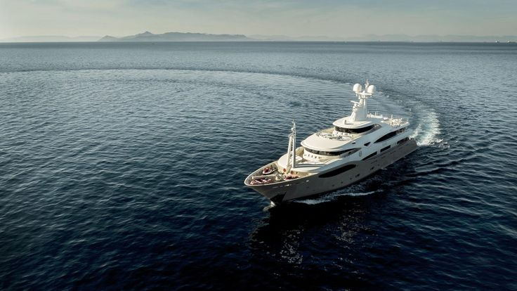 Luxury #mega #yacht #charter in the #Med : #Italy , #Greece , #France