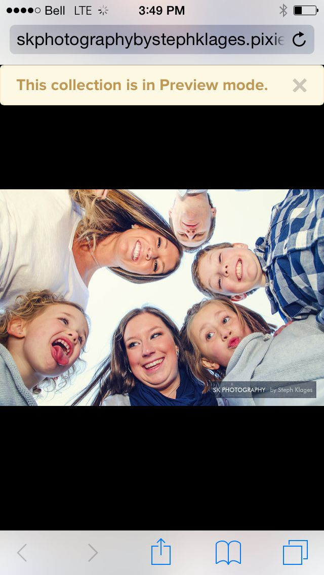 Preview of family photos that will be posted tonight