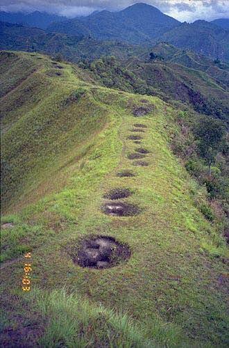 Tierradentro hypogeum, Colombia.