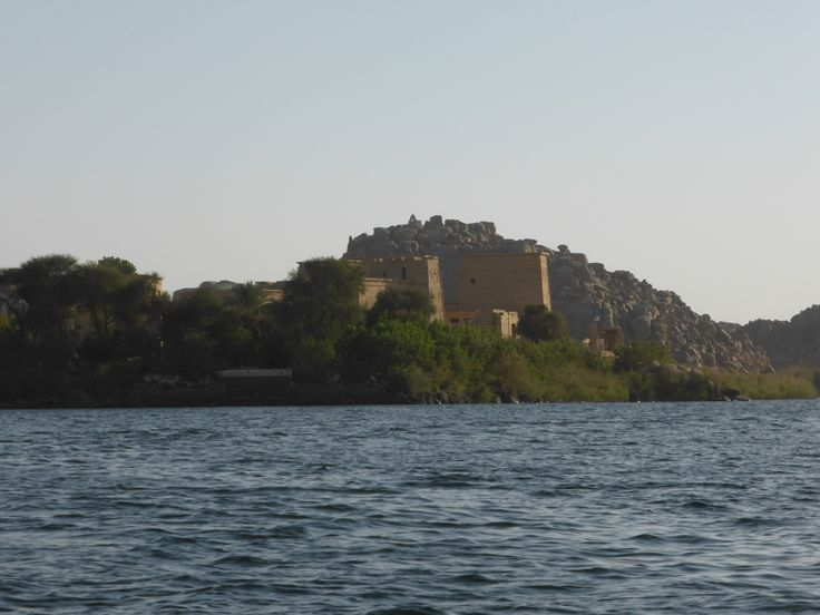 Philae temple in the middle of the Nile!