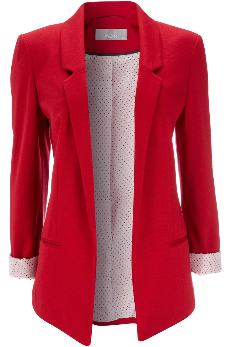 Red blazer- holiday must have