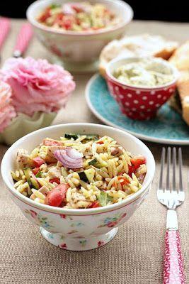 Kritharaki / Orzo Salat – yummy for my tummy