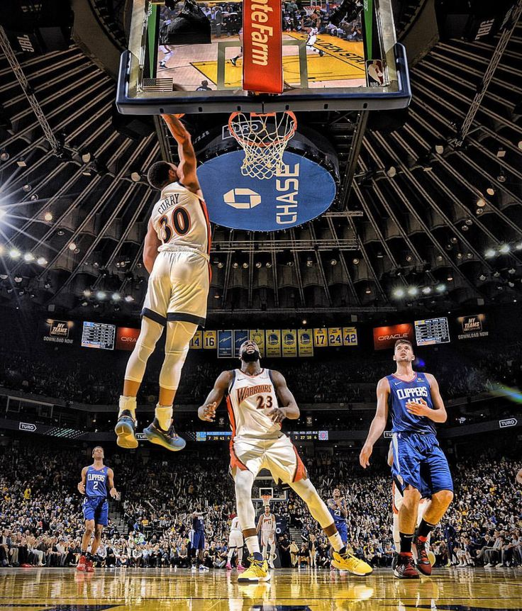 Warriors Crush Clippers; Oakland Calif. 4/7/19 In