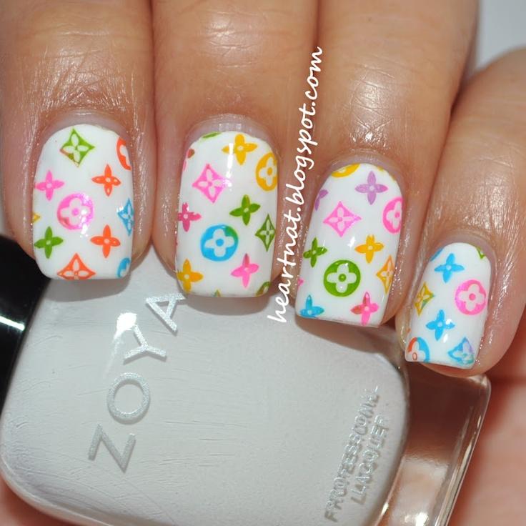 16 best Louis Vuitton nails images on Pinterest | Louis vuitton ...