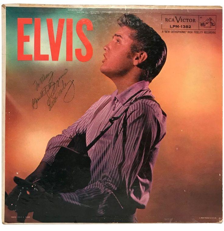Elvis Presley 'Elvis' Album Signed By Elvis Presley
