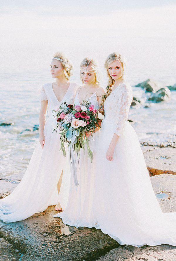 1647 best Bridesmaids images on Pinterest | Bridal gowns, Short ...