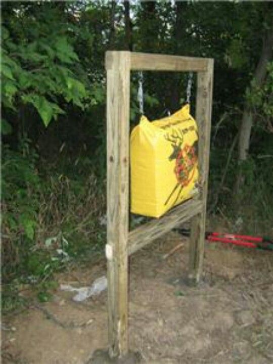 Shooting Target Stand Designs : Diy archery target stand pictures to pin on pinterest