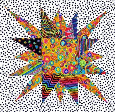 CBS SUNday Morning Quilt  http://diannespringer.blogspot.com/2011/03/cbs-sunday-morning-quilt-business.html