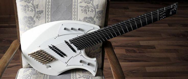 8 string headless ergonomic fanned fret 8 string guitars pinterest guitar and ranges. Black Bedroom Furniture Sets. Home Design Ideas