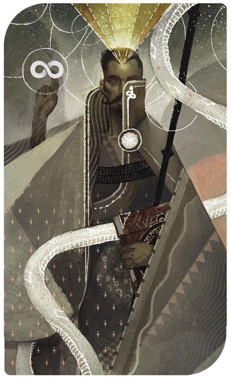 Dragon Age Inquisition Tarot - Dorian