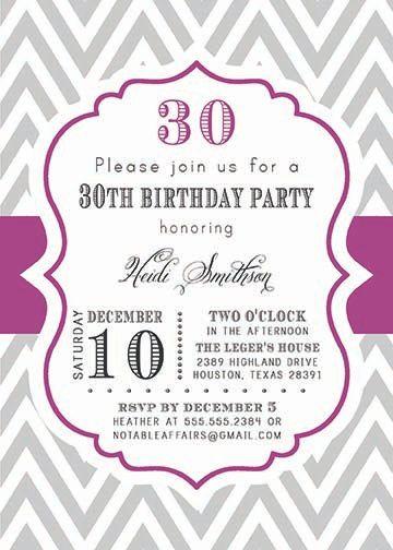 PRINTABLE Milestone Birthday 13th 16th 18th 20th by NotableAffairs, $15.00