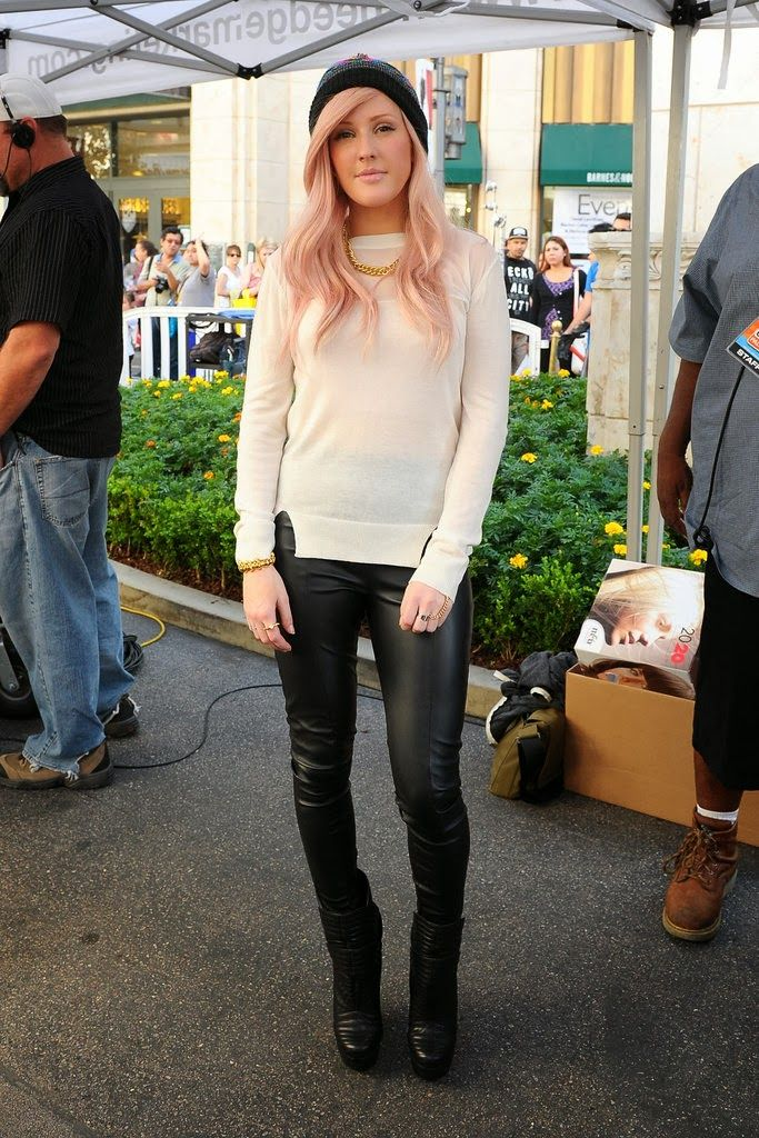 Ellie Goulding Style Fashion My Style Pinterest