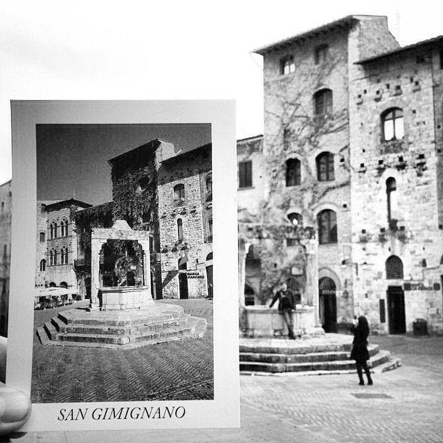 Postcard from San Gimignano (Siena/ Tuscany/ Italy)
