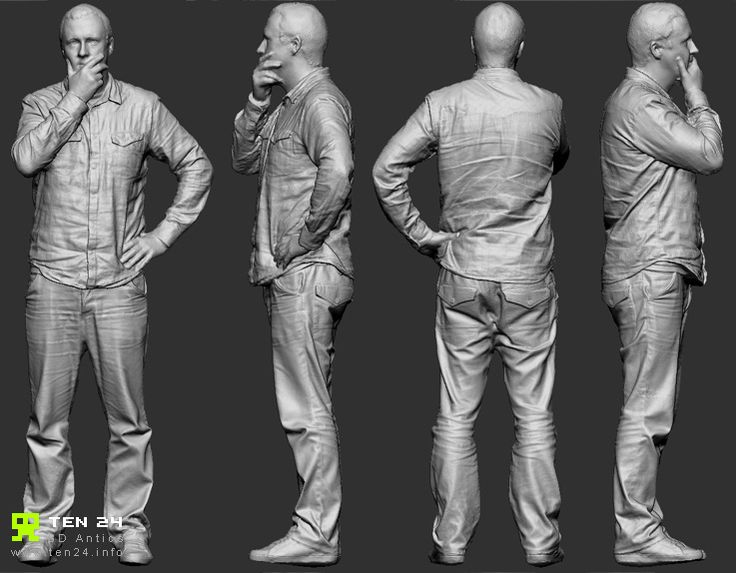 Reference Character Models - Page 5