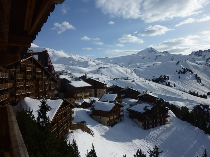 The view from chalet Altitude, Les Arcs