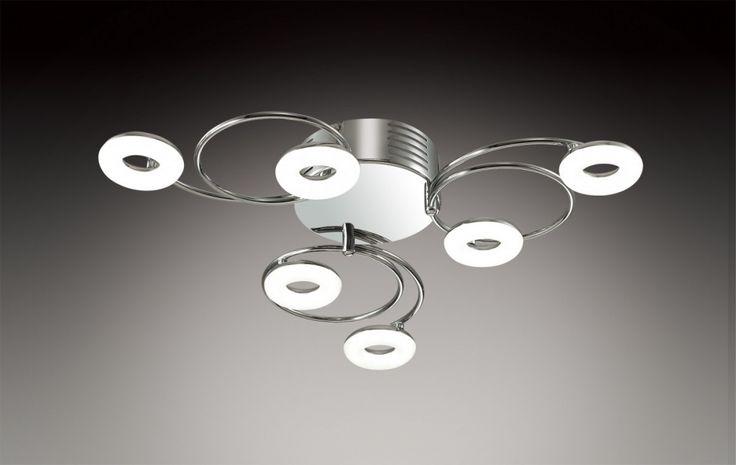 Люстра Odeon Light 2864/6LC купить в интернет-магазине – цена, характеристики