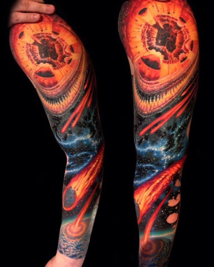 17 Best Images About Space Cosmic Tattoos On Pinterest