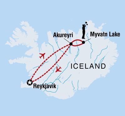 Icelandic Northern Lights overview | Discover a different side to Iceland on Intrepid's Northern Lights Tours.