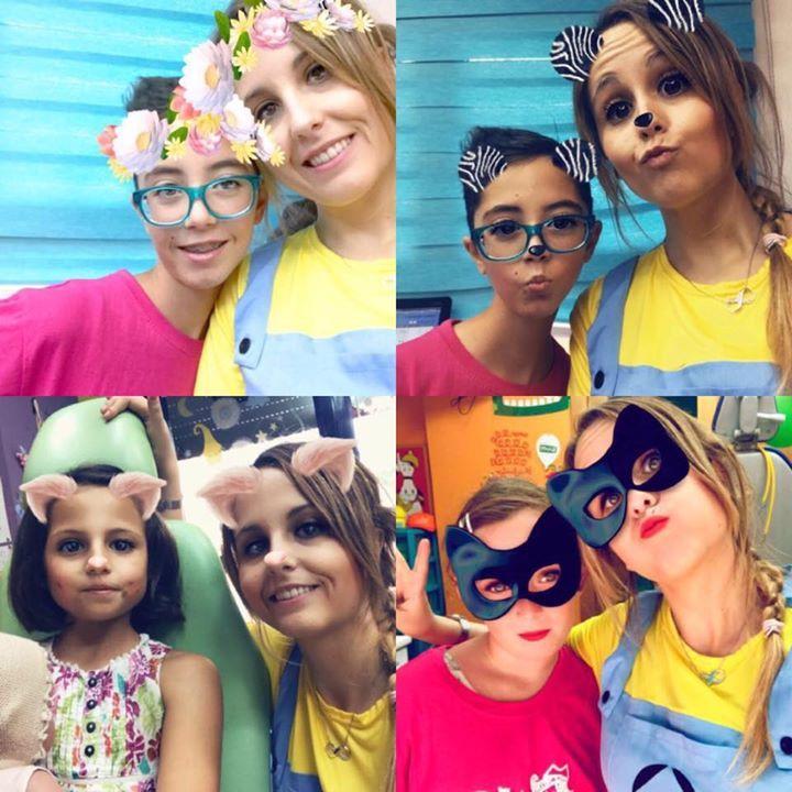 Duendes princesas y Batman!!!! Que mezcladito!!!! Jajjaj  En nuestra clínica no hay miedo ni ansiedad dental!!!! Puedes coger cita en nuestra web http://ift.tt/1MrTCcN o llamar por teléfono a Javier  en el 963 718 003 estamos en calle Serpis 68 Edif Arcade Valencia España #LaClinicaDentalInfantilDraPaloma