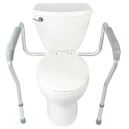 Healthline Toilet Safety Frame, Bathroom Safety Rail with Toilet