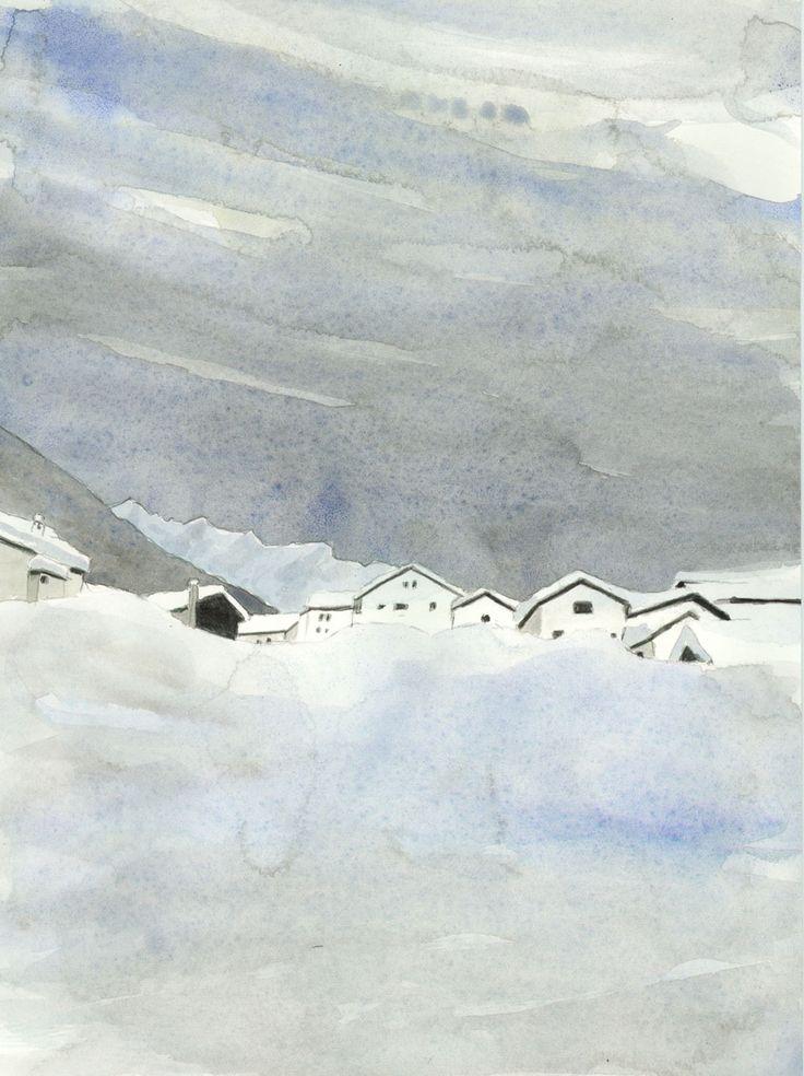 simplon-dorf im winter