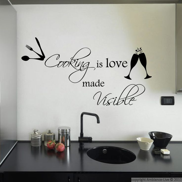 43 best galerie stickers citations anglaises english - Stickers citations cuisine ...