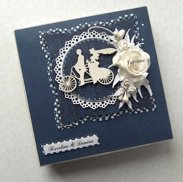 The other side of me, Paper box for wedding greeting card