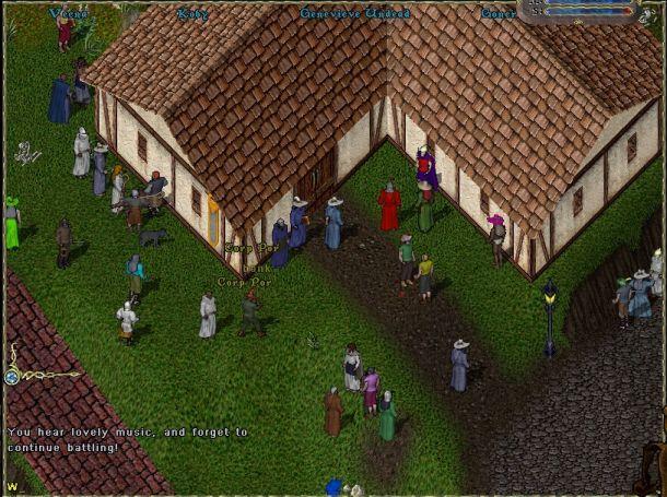 Isometric 2.5d (Ultima Online)
