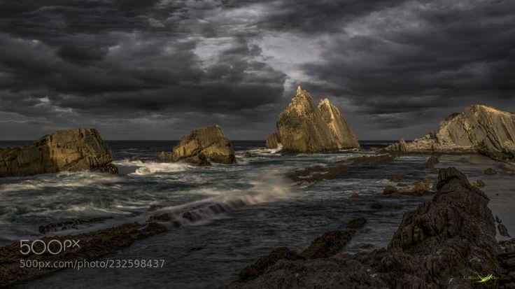 Last lights of Arnia by carlos_santero
