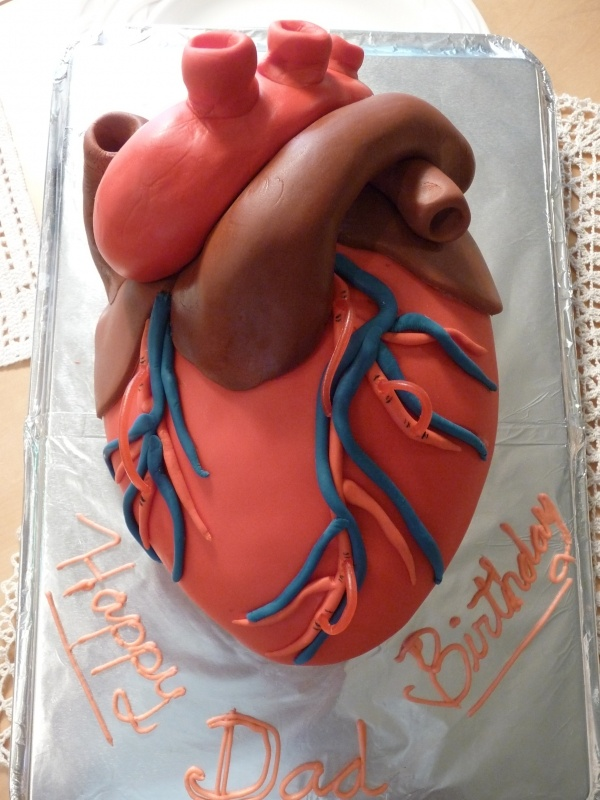 Cake for Danny! I'm having one of these made for his next transplant anniversary!!!