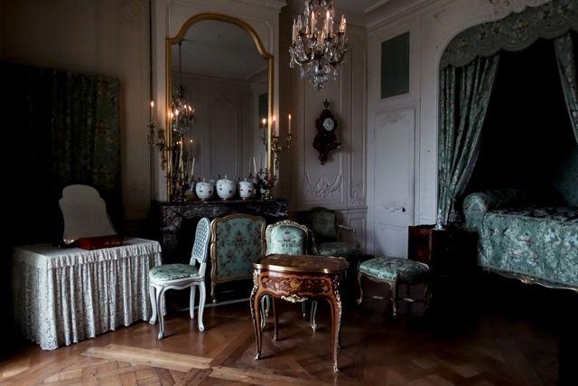 Visite des appartements des Favorites de Louis XV à Versailles