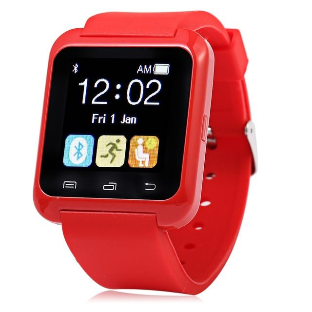 Special price Smartwatch Bluetooth Smart Watch U80 for iPhone IOS Android Smart Phone Wear Clock Wearable Device Smartwach PK U8 GT08 DZ09 just only $10.99 with free shipping worldwide  #menwatches Plese click on picture to see our special price for you