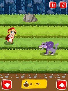Jogue Red Riding Hood Run online no Lejogos! Red Riding está a caminho de sua avó e durante o percurso ela está coletando alguns frutos deliciosos para a velha senhora, ajude-a a evitar obstáculos e n