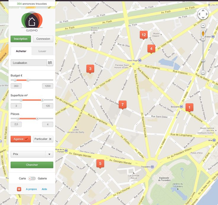 Real Estate Web App & Map (Light UI)    ----BTW, Please Visit:  http://artcaffeine.imobileappsys.com