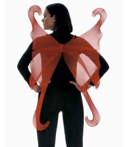 Φτερά Νεράιδας σε Κόκκινο και Μοβ χρώμα  100x68 εκ.