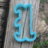"""Cookie cutter """"Number - 1"""" 10 cm"""