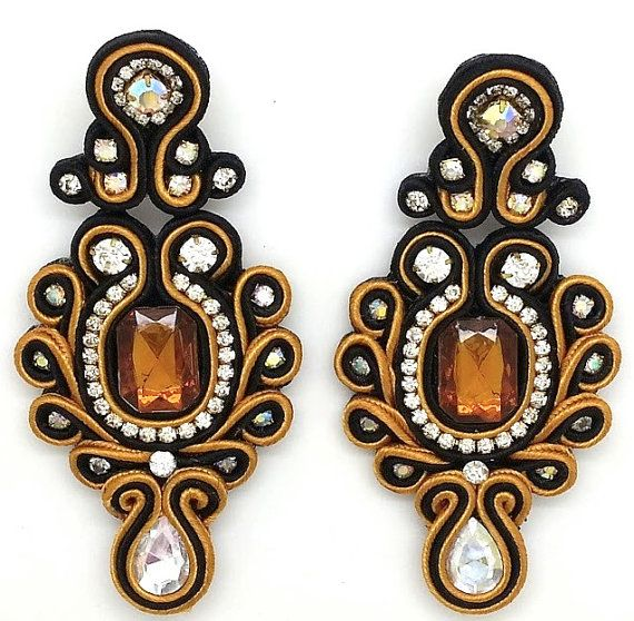 Exquisite Model Anastasia 100 handmade earrings by KaleahDesigns, $32.00