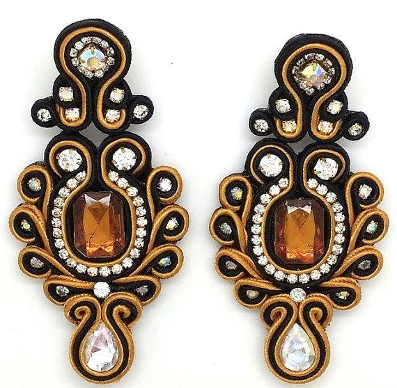 Exquisite Model Anastasia 100 handmade earrings by KaleahDesigns, $32.00