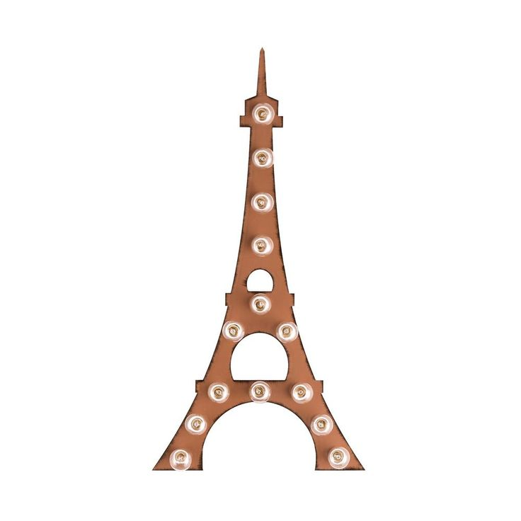 Eiffel Tower Marquee Sign | dotandbo.com