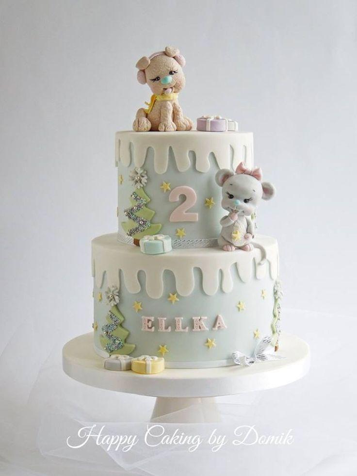 Winter Cake on Cake Central