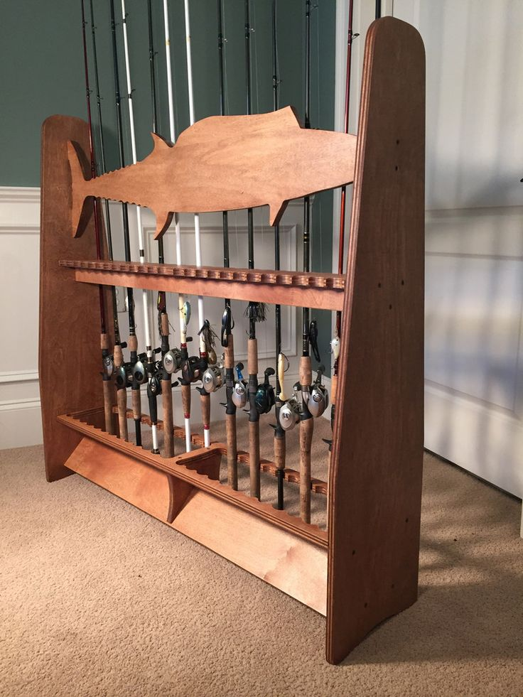 1000 Ideas About Fishing Rod Rack On Pinterest Rod Rack