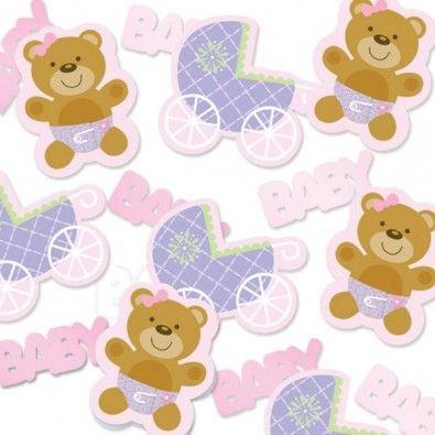 Adorables petits confettis pour la décoration des tables de fêtes Baby Shower, Naissance, Baptême, Anniversaire