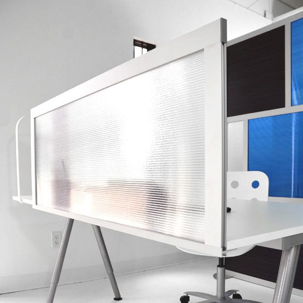 Desk Divider By Loftwall Can Be Tackable Fabric Acrylic