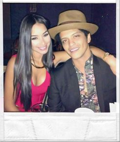 JESSICA CABAN AND BRUNO MARS  a night out on the town