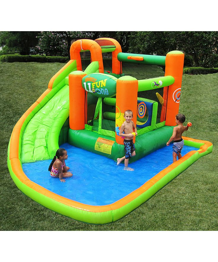 Inflatable Water Slide Az: Best 25+ Water Bounce House Ideas On Pinterest