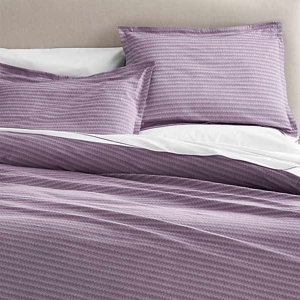 Dylan Purple Duvet Covers and Pillow Shams