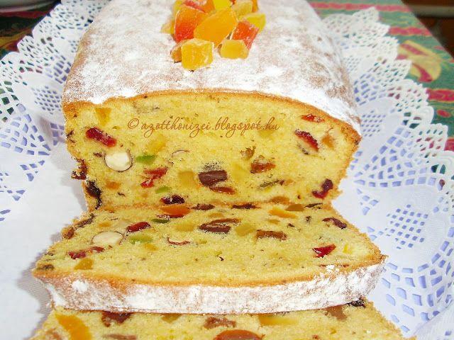 Az otthon ízei: Gyümölcskenyér - sütőporos