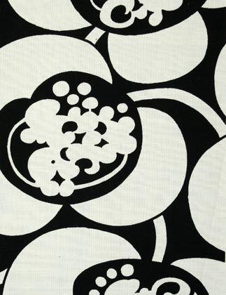 finnish fabric design by raili konttinen, 1964-66