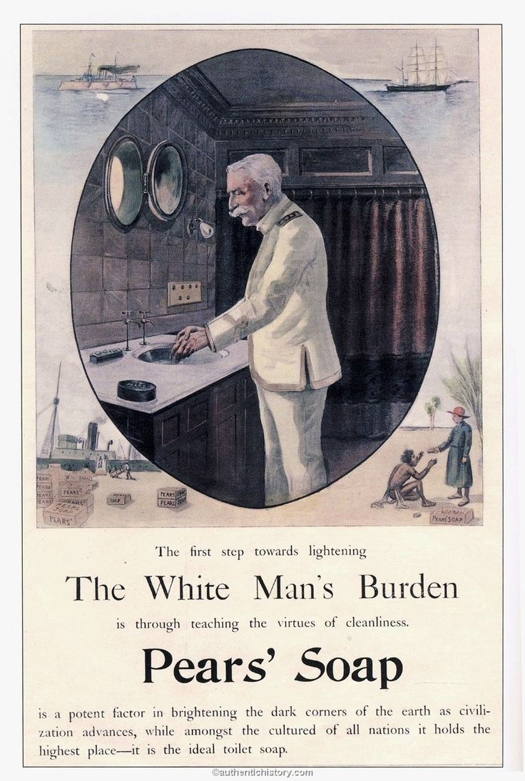 Vintage bathroom ads - 20 Of The Most Racist Vintage Ads